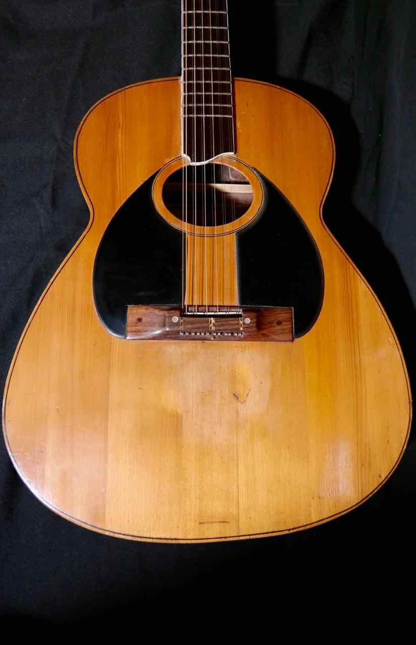 Tony Zemaitis 12 String Acoustic Guitar 1960