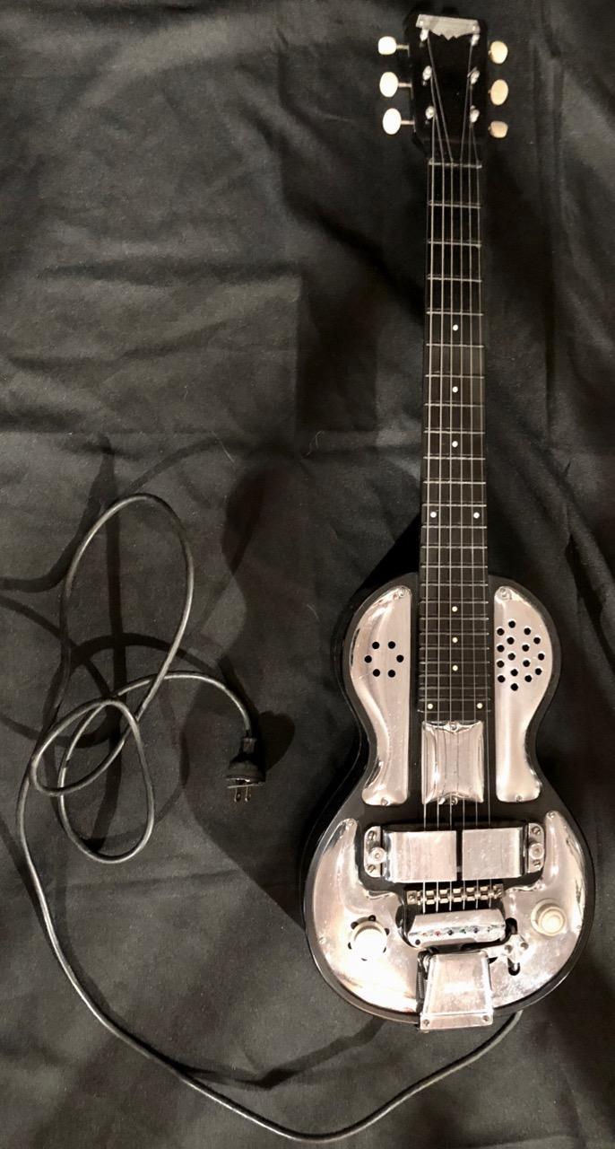 Rickenbacher, Vibrola Spanish Solid Body Electric Guitar, 1939 ...