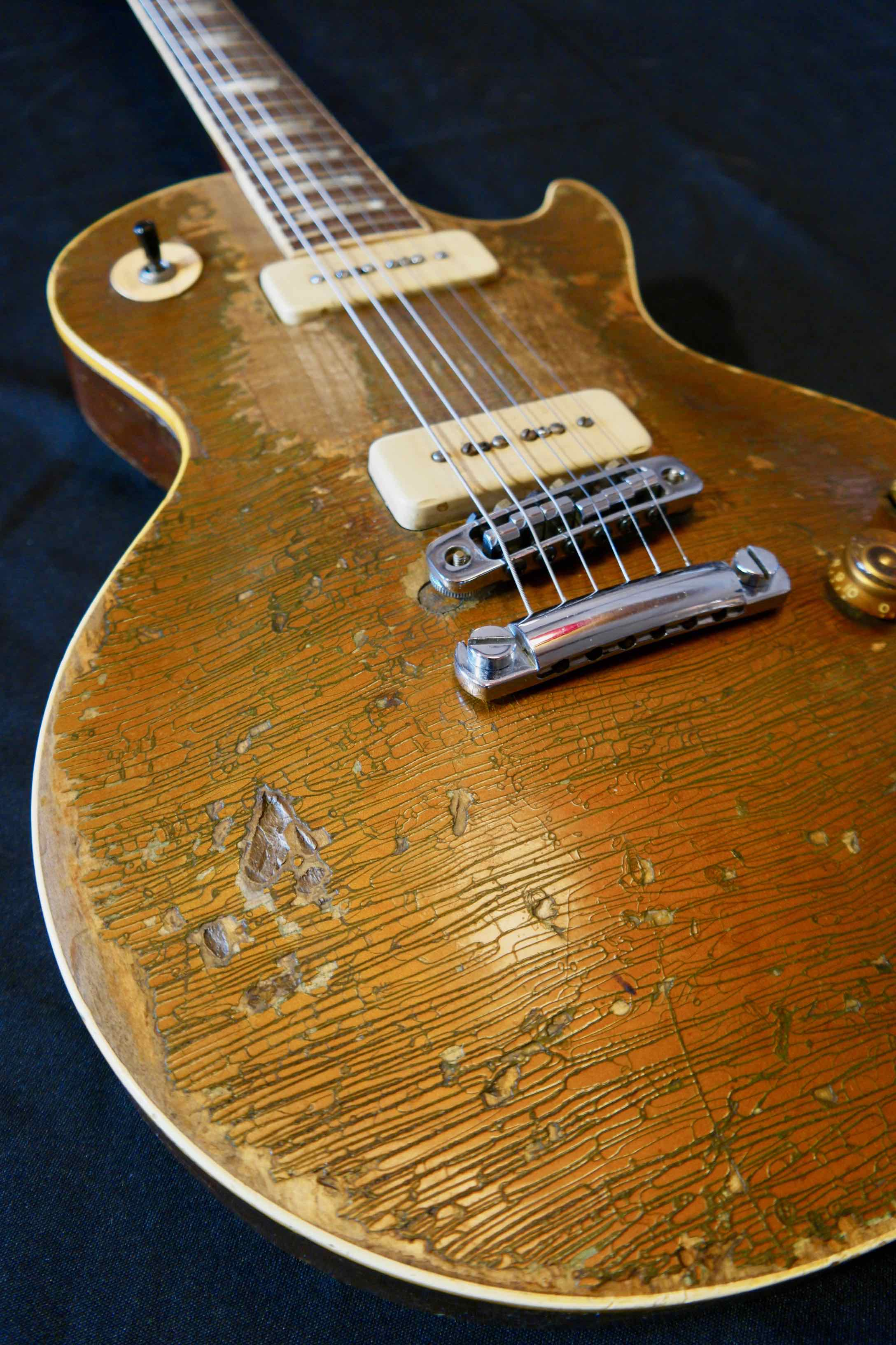 Gibson Les Paul Goldtop 1954 Alan Wilson Bob Hite Canned Heat Tune Your Sound