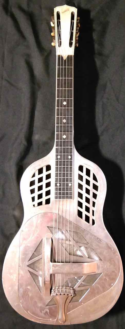 National Style 4 Square Neck Tricone Resonator Guitar