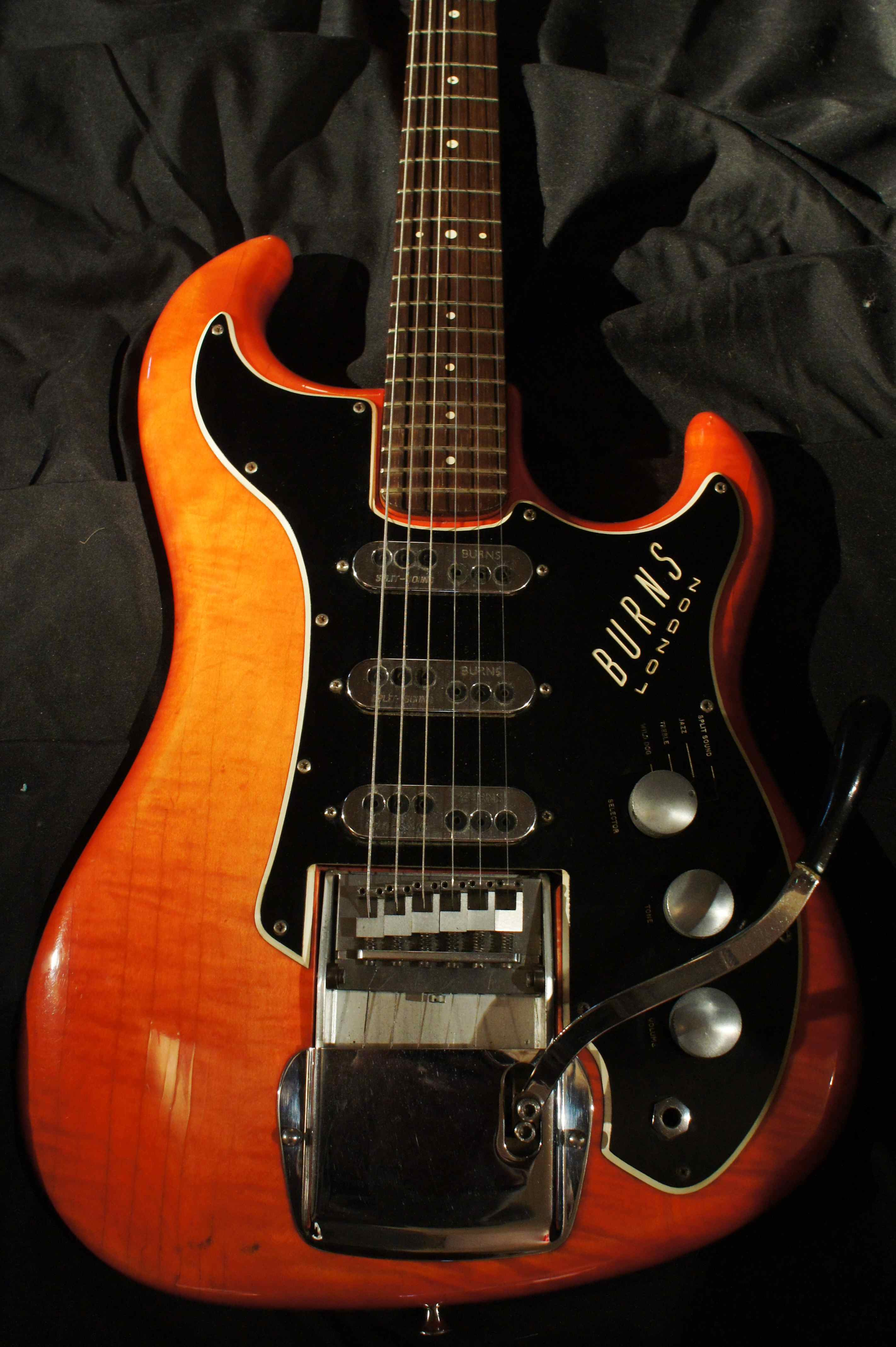 Burns Guitars were enormously well received in Britain before the British invaded the USA As I have mentioned before in the 1950 s through the 1960 s