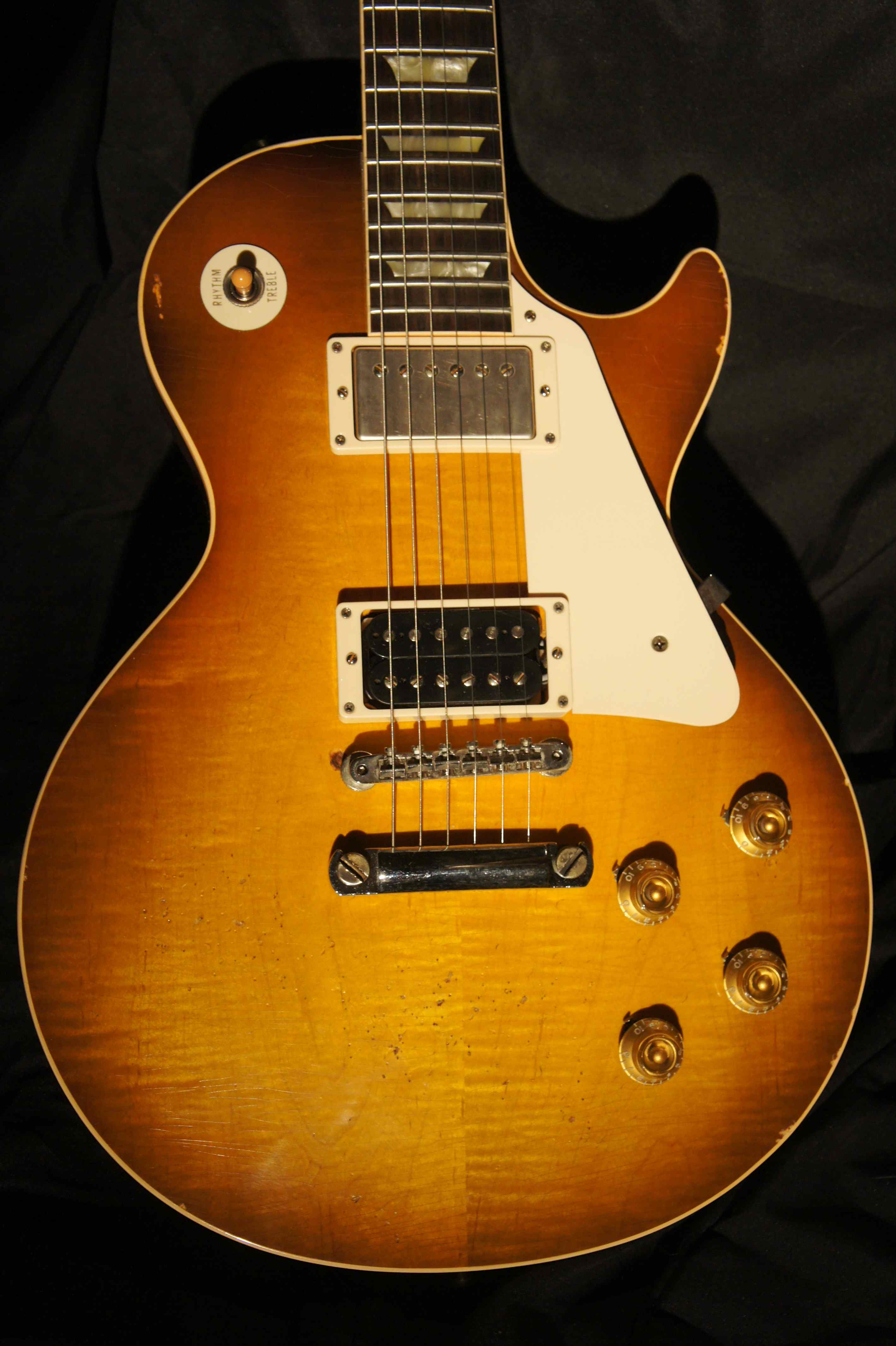 jimmy page les paul color gibson custom jimmy page number two les paul 2009 tune