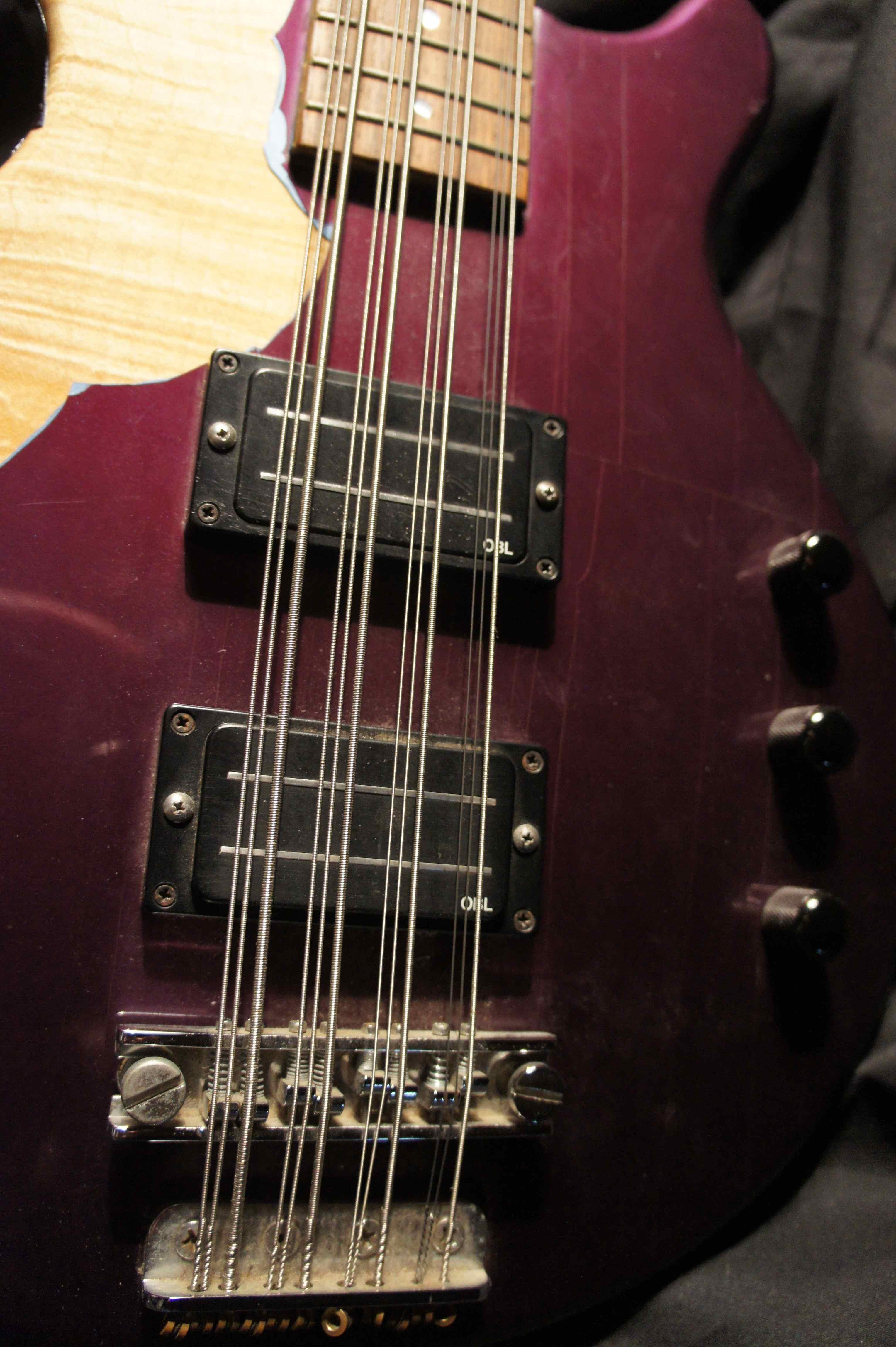 hamer 12string bass short scale 1988 tom petersson