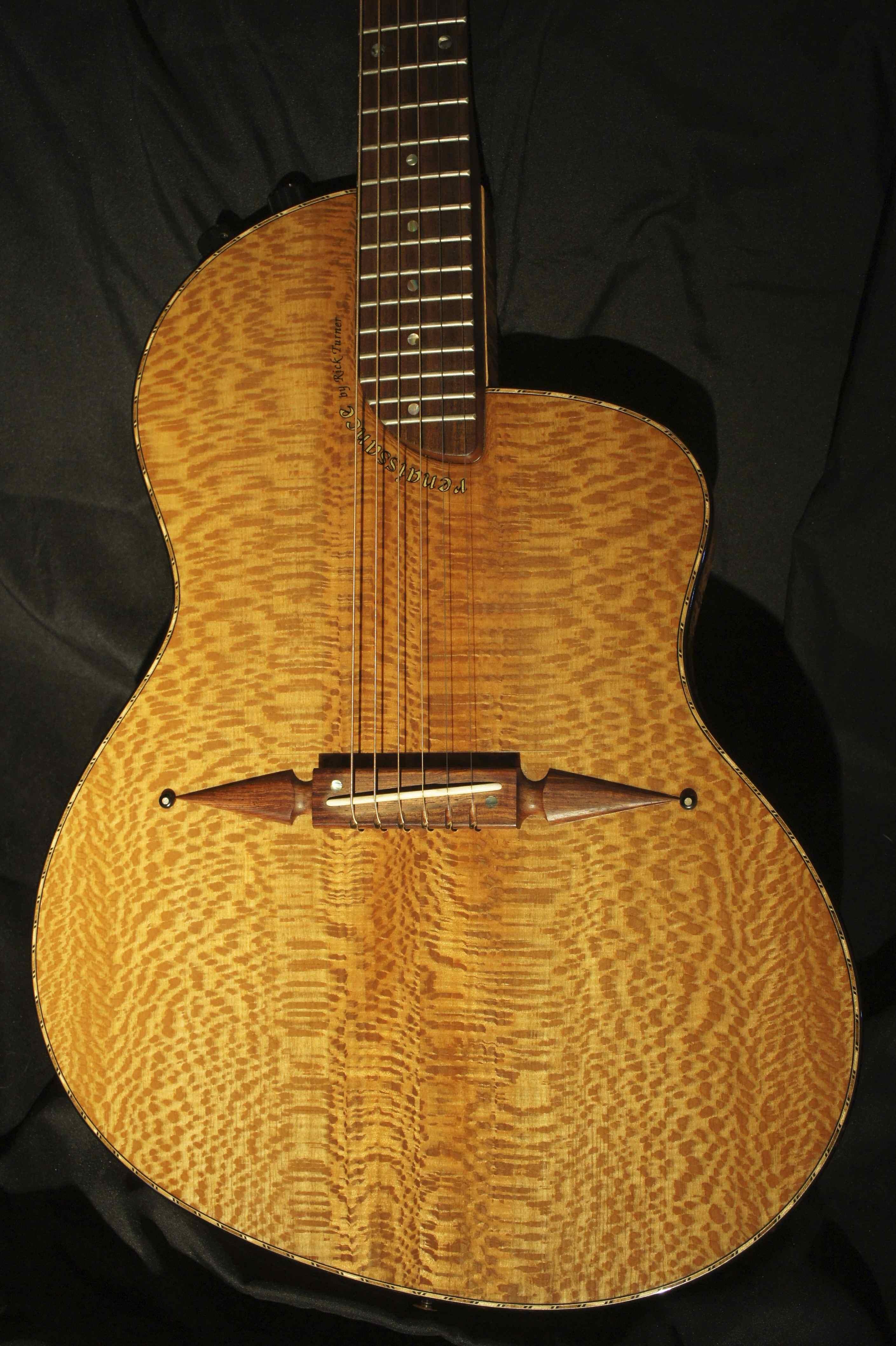 rick turner renaissance steel string guitar 2004 tune your sound. Black Bedroom Furniture Sets. Home Design Ideas