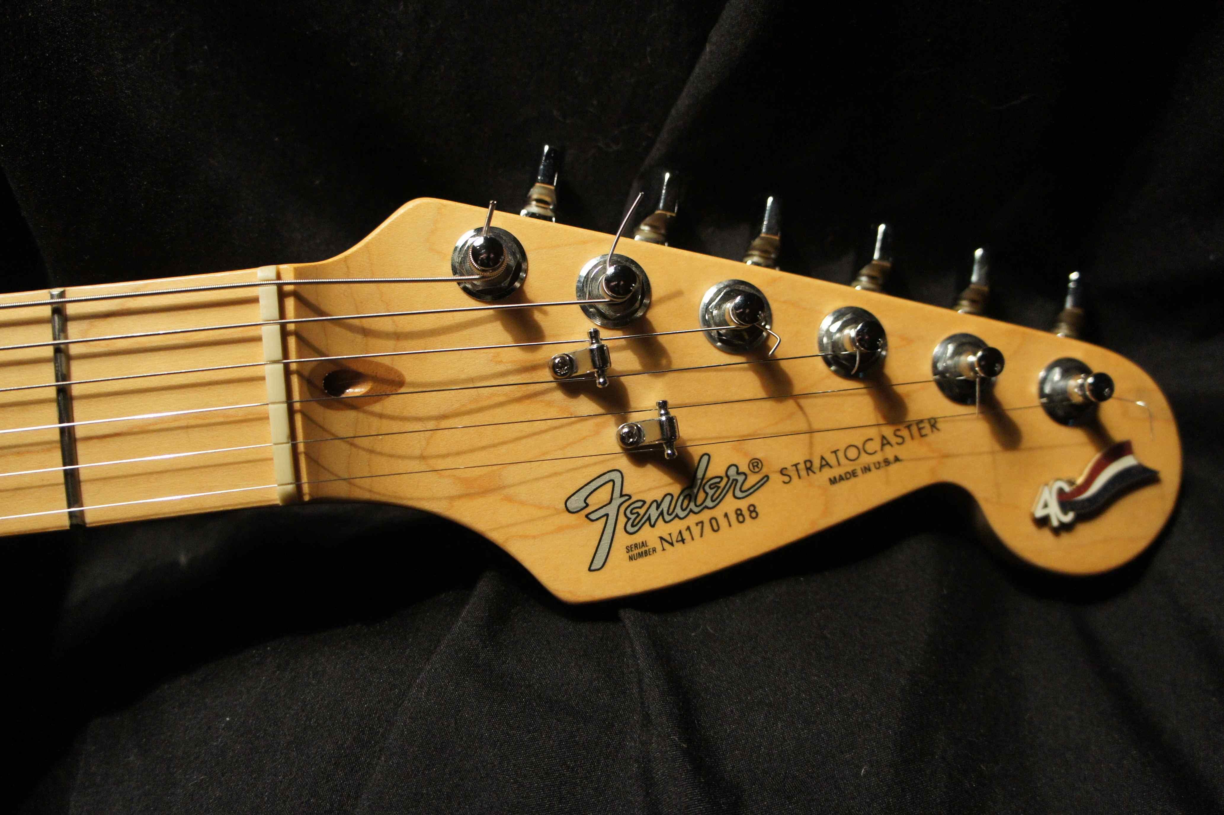 Fender Stratocaster Aluminum 40th Anniversary 1994
