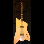 Tom Holmes (THC), Jupiter Thunderbird bass, 1983, build for Bo Diddley