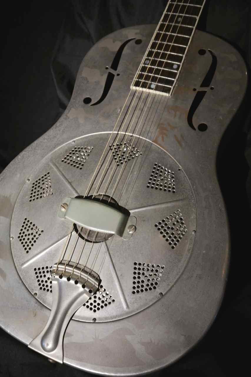 National Style O Roundneck Resonator Guitar 1932 Arlen