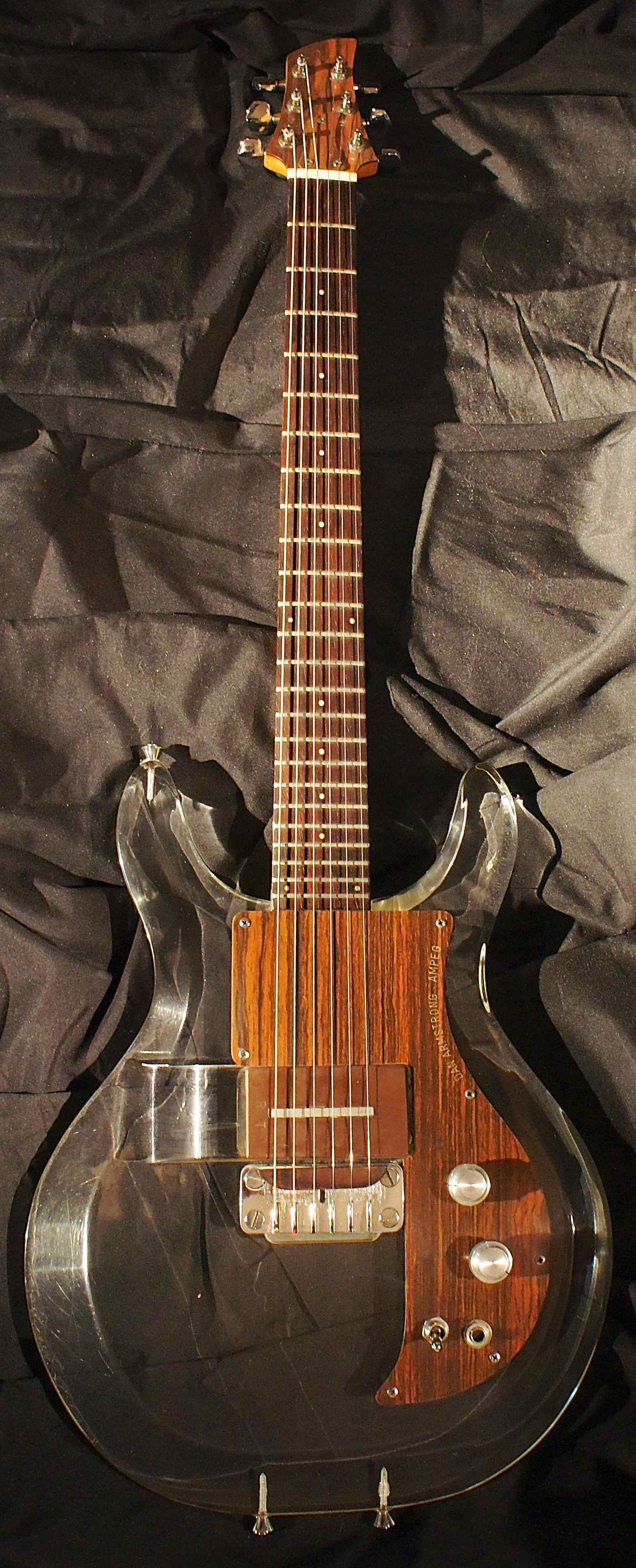 Ampeg Dan Armstrong Plexi Guitar 1969 Tune Your Sound