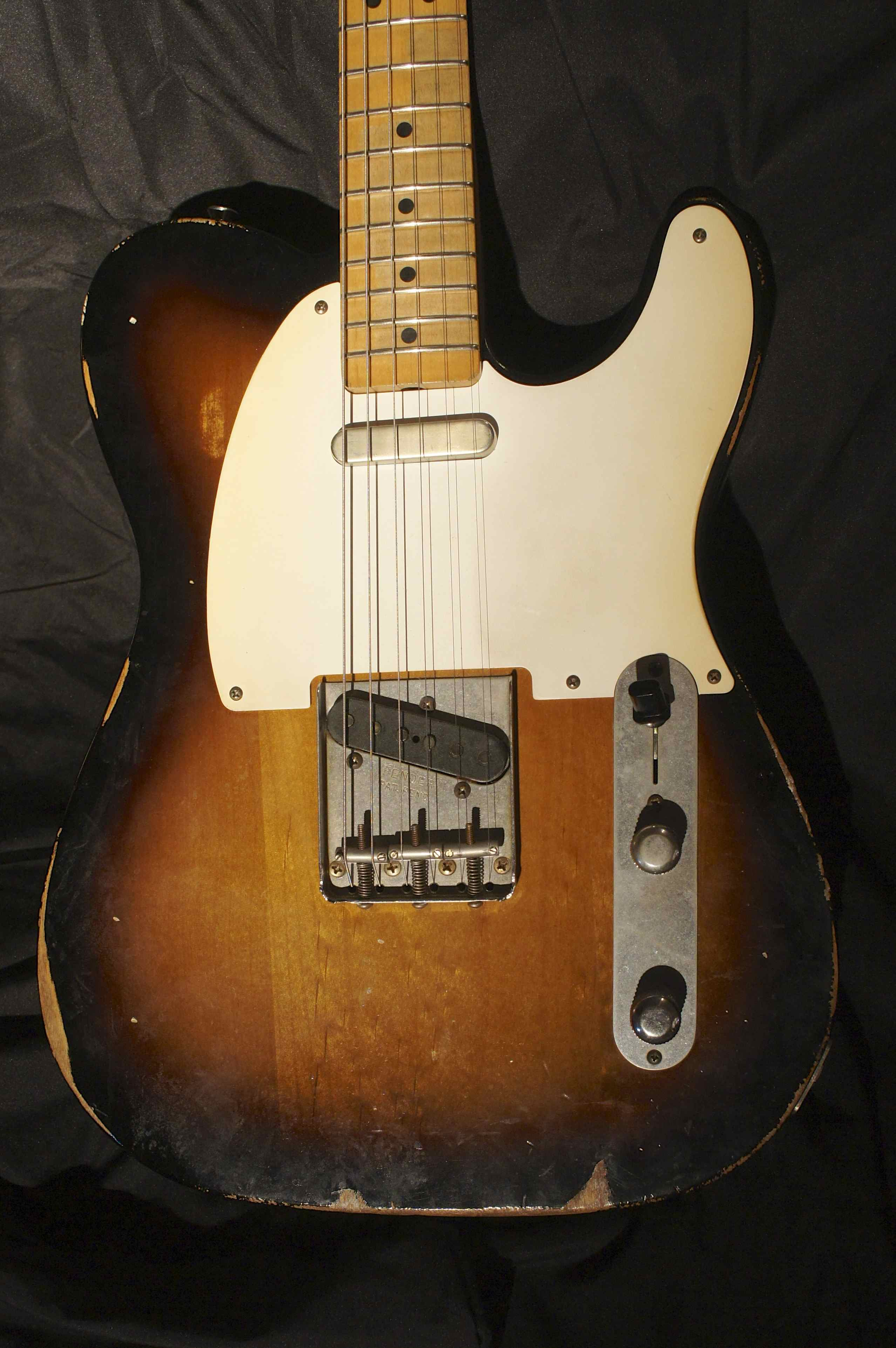 fender road worn 39 50s telecaster with treatment by andy brauer 2009 jeff kollman tune your. Black Bedroom Furniture Sets. Home Design Ideas
