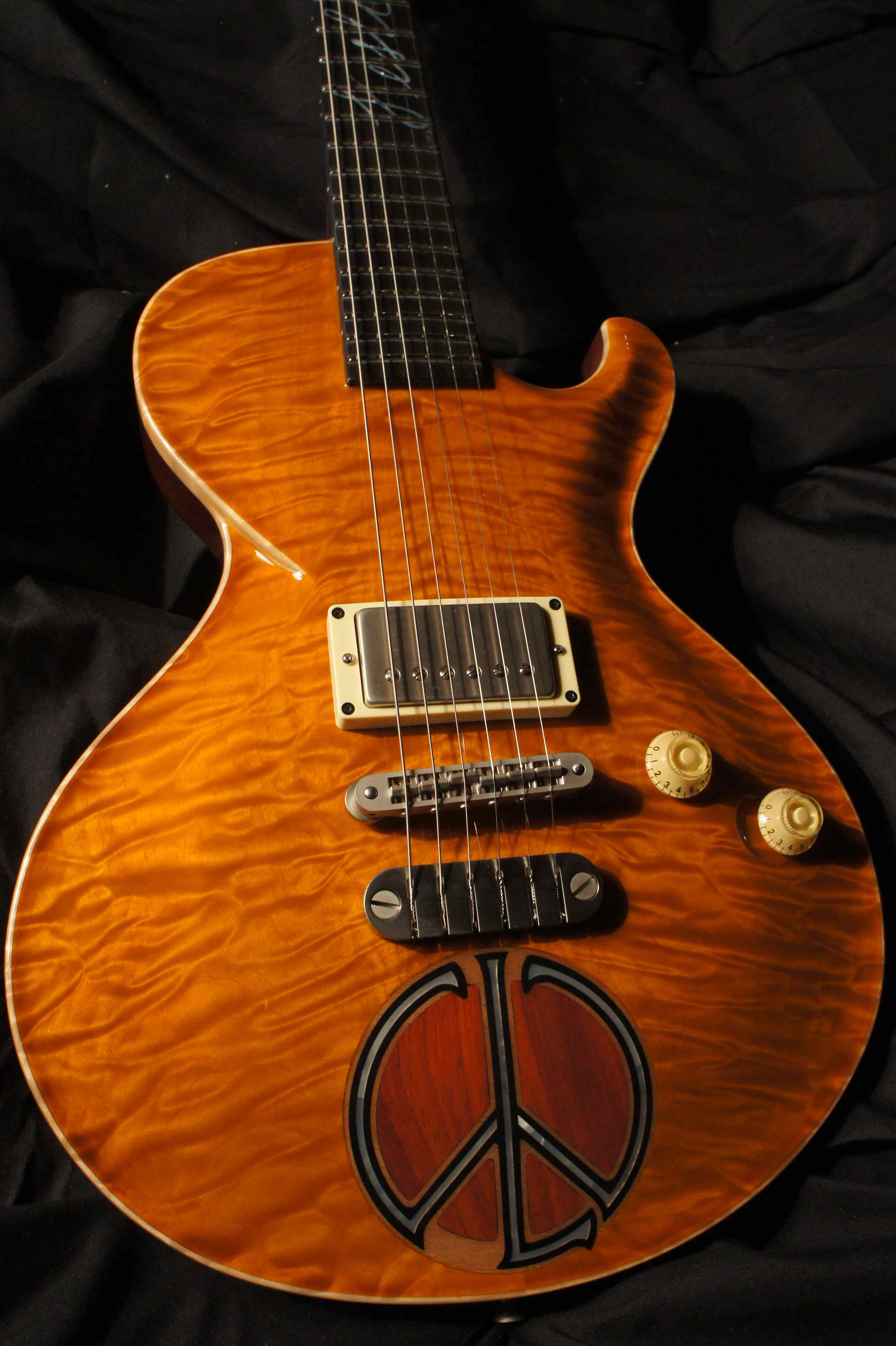 Dean USA Limited Run Dimebag ML Rust From Hell Electric Guitar