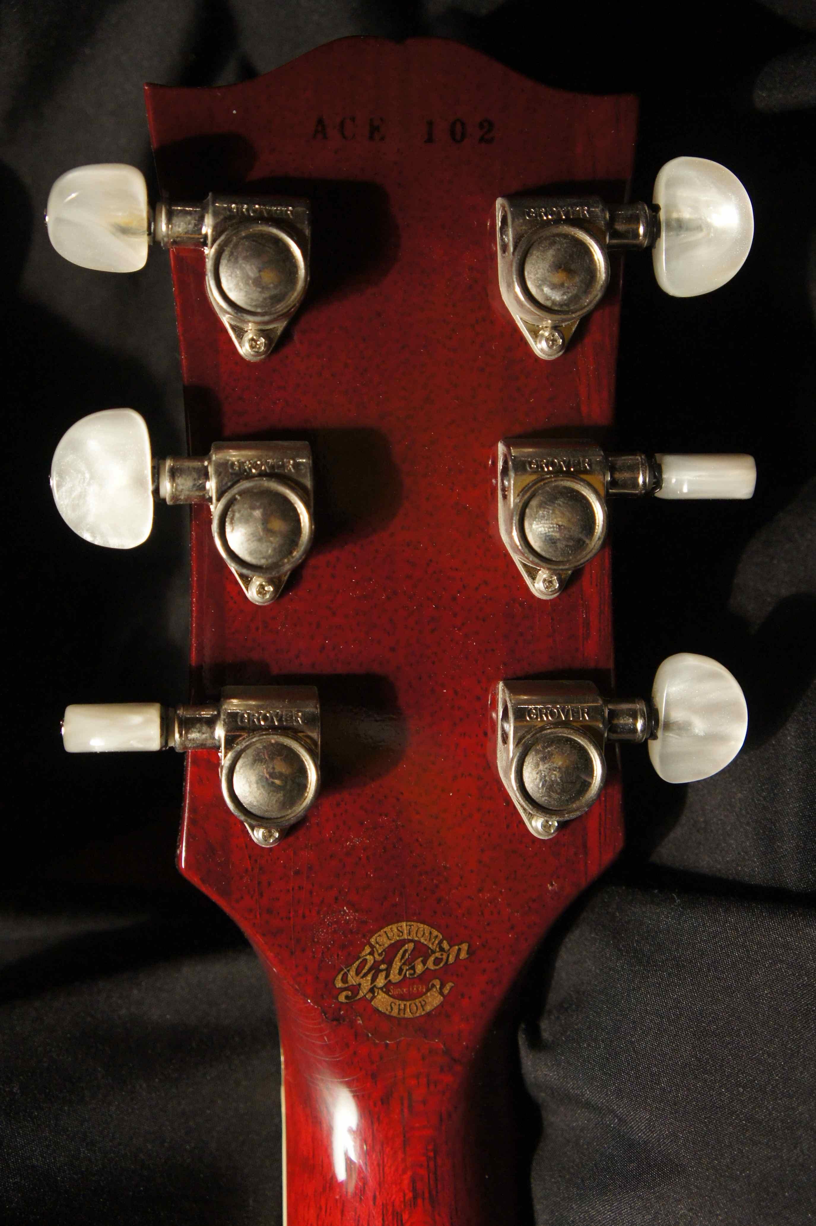 Gibson, Les Paul Ace Frehley Custom Shop, 1997 - Ace Frehley
