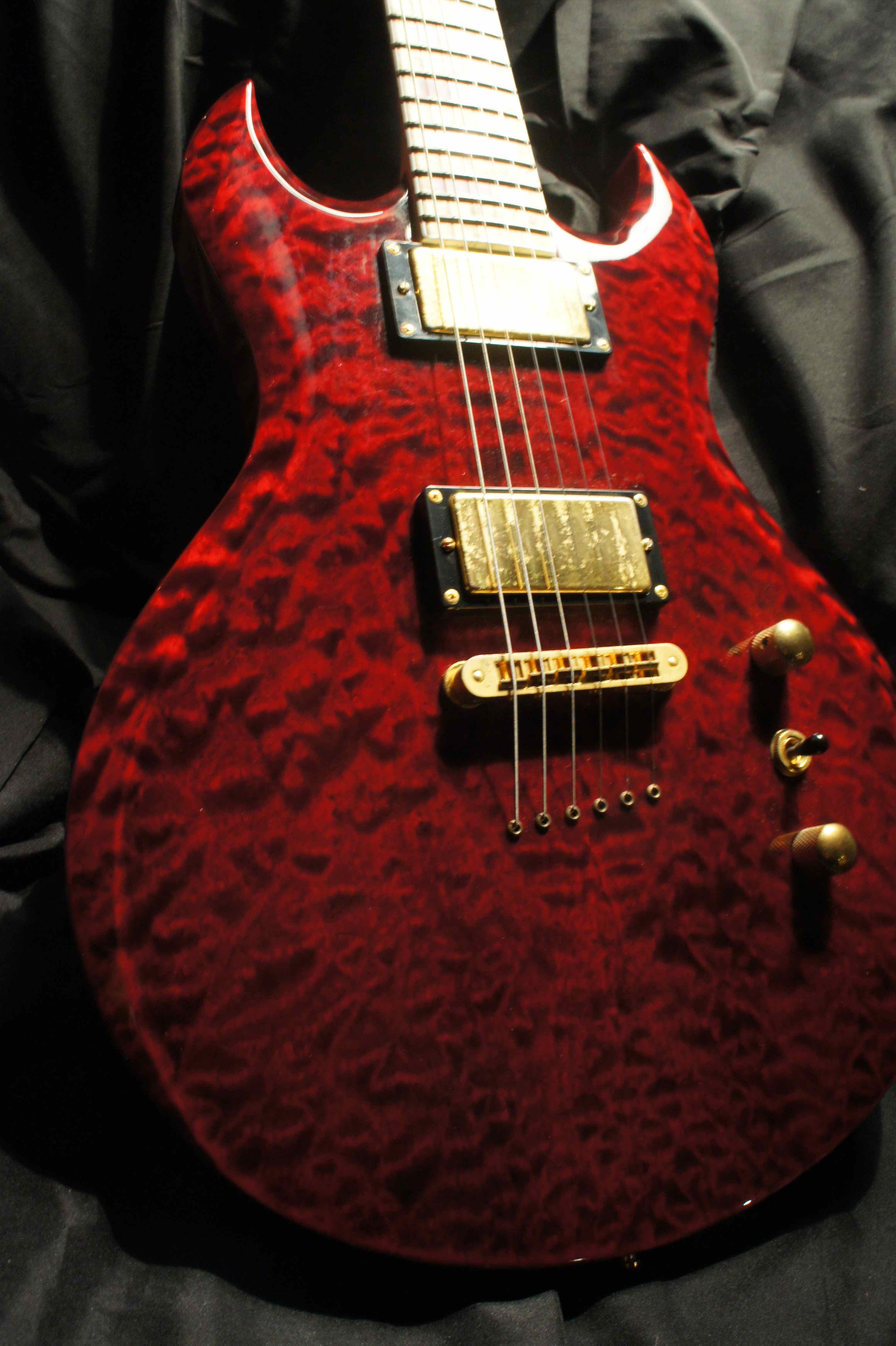 Washburn, Custom Shop guitar, 2006 - Scott Ian (Anthrax ...