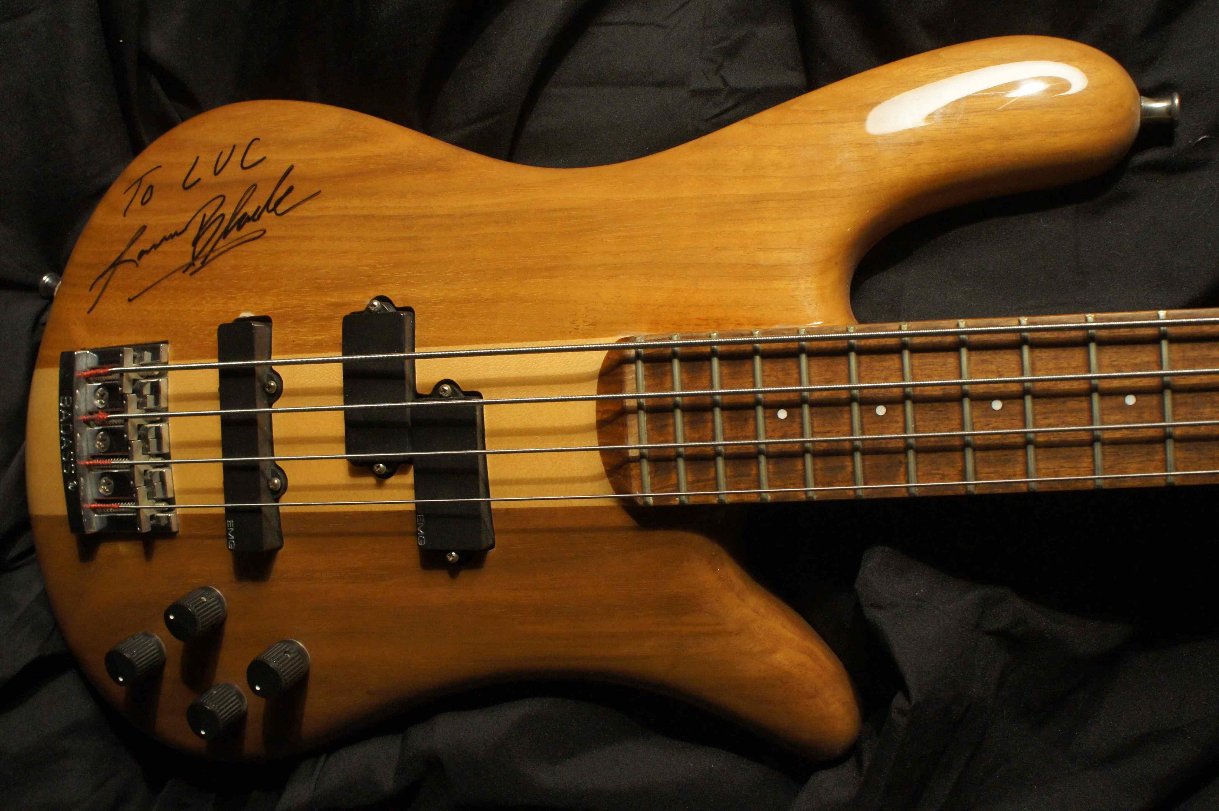 Spector Ns 2 Bass 1984 Lorne Black Great White