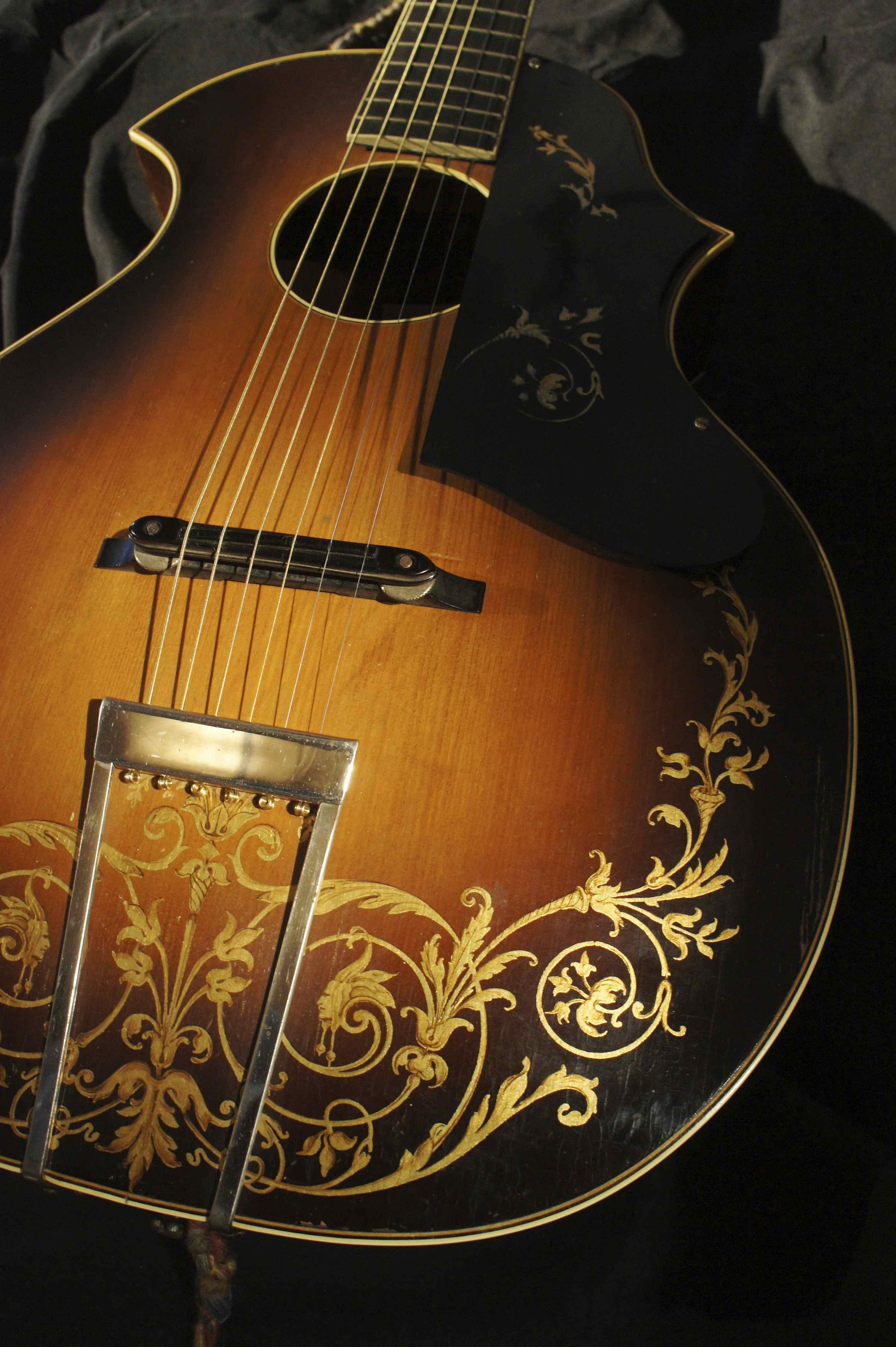 Kay Kay Kraft Double Cut Venetian Style B Acoustic